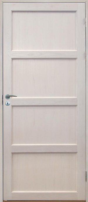 vit innerdörr med speglar